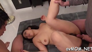 hot mom seduces two horny dudes