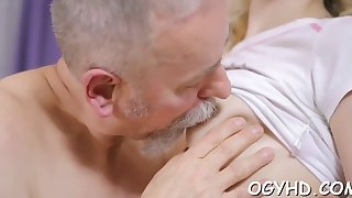 old rod rams young pussy and mouth