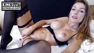 horny fitness model squirting orgasm power