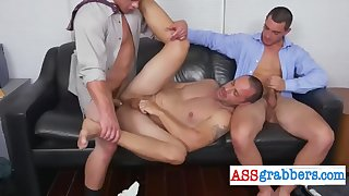 horny twink needs more than one cock