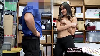 emily is coerced into taking officers big cock against her will