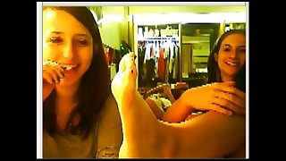chatroulette girls feet 44